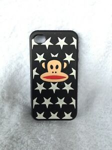 """iPhone 4/4s cellphone case """"Monkey with stars"""""""