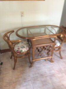 Small Table and Chairs Set