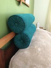 2 X BOLSTER CUSHIONS $25 each Coomera Gold Coast North Preview