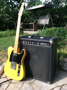 Rare 1978 peavey Artist 1x15 à lampes! Lou Reed, Costello