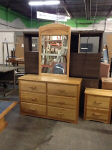 4 piece Bedroom Set at HFH ReStore