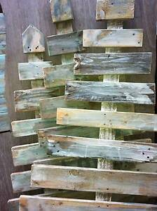 Christmas tree salvaged old pallet Timber rustic recycled hand ma Southport Gold Coast City Preview