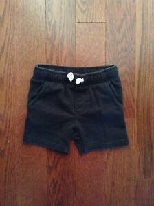 Carter's Black Shorts Size 18 months