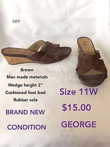 Size 11 booties & sandals