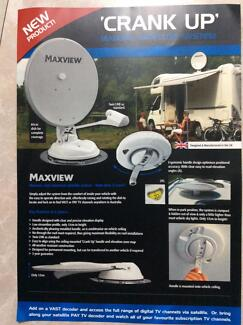 SATELITE DISH ROOF MOUNTED. MAXVIEW