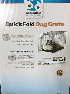 Used Quick Fold Dog Crate