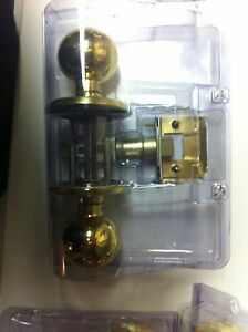 Weiser Brass Door Handles