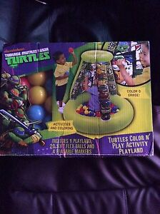 TMNT BALLPIT COLOUR AND PLAY