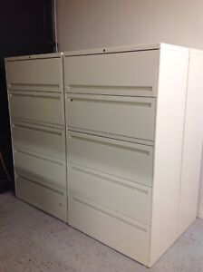 """LOTS OF LATERAL FILE CABINETS AVAILABLE 2/3/4/5""""DRAWERS"""
