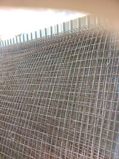 7 X CYCLONE WELDMESH FENCE PANELS @1820 ( H ) $500.00 Logan Reserve Logan Area Preview
