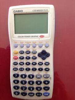 Casio calculator cfx-9850gb plus