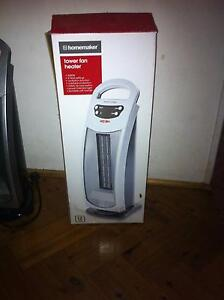 Homemaker Electric Tower Fan heater Mascot Rockdale Area Preview