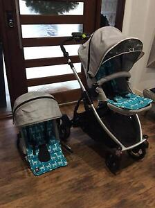 STEELCRAFT STRIDER PLUS DOUBLE PRAM with extras!!! (IMMACULATE) Mudgeeraba Gold Coast South Preview