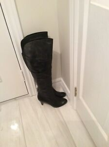 Boots leather upper size 7.5