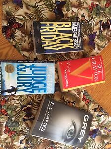 4 adult books