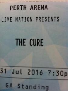 SOLD pending p/u The CURE Concert Munster Cockburn Area Preview