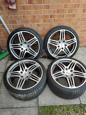 """Porsche 911 Turbo Style 19"""" Wheels with Tyres 986 987 996 997 Staggered"""