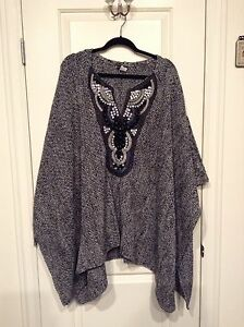 Venus Beaded Poncho
