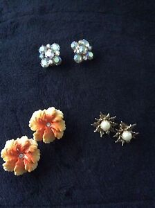 Clip on earrings
