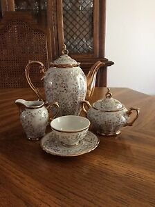 Antique Porcelain Coffee Service