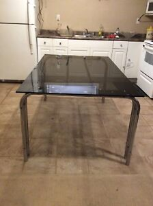 Glass Dining Table No Chairs