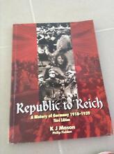 Republic to Erich by K J Mason Baldivis Rockingham Area Preview