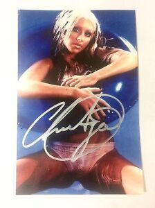 Christina Aguilera Autographed 5x7 Photo