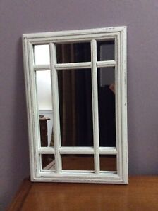 Chalk Painted Accent Mirror