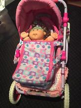 Cabbage Patch Kid with Pram and carry bags Ardross Melville Area Preview