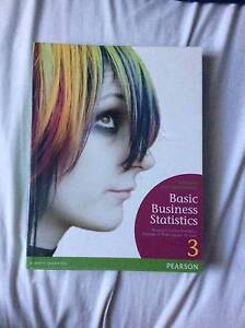 Basic Business Statistics; Concepts and Applications Mill Park Whittlesea Area Preview