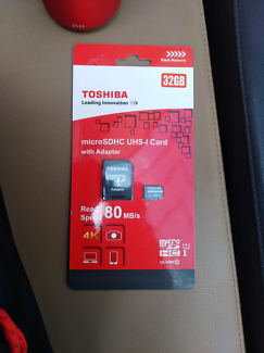 Toshiba Ultra microSD Class 10 UHS-1 card 32gb