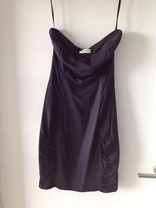 Kookai Black boob tube dress - Size 1 (S) 885433daf