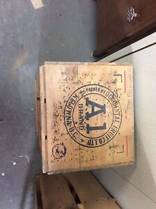 Antique/collector produce crates.  REDUCED!