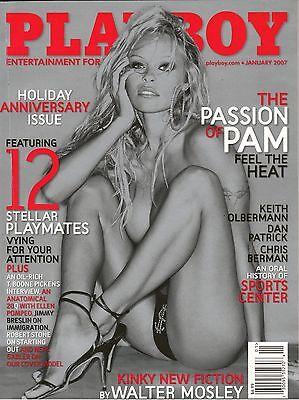 Pamela Anderson Playboy Magazine January 2007 The Passion Of Pam 12 Playmates