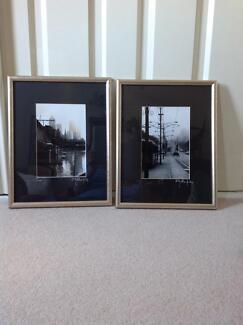 Two prints of early Melbourne