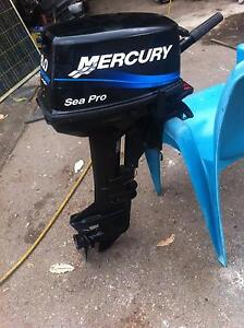 """outboard motor 8hp mercury short shaft,,,,,15""""..... Gosford Gosford Area Preview"""
