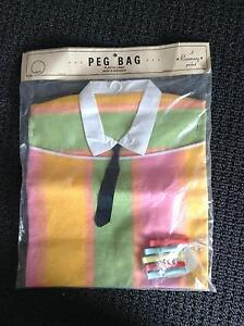 "1950s ""peg bag"" still in original packaging Banksia Park Tea Tree Gully Area Preview"