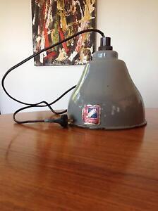 Benjamin Crysteel enamel industrial lampshade Newport Pittwater Area Preview