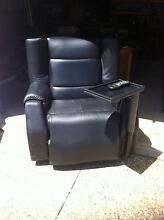 Niagara reclining black leather massage chair, was $15,000 new!! Trinity Park Cairns Area Preview