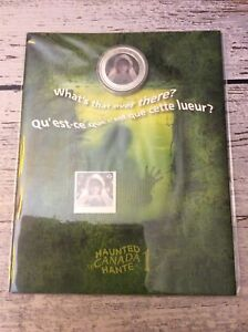Canada Post Haunted Canada Ghost Bride Cain & Stamp Set