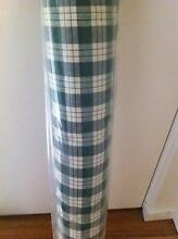 Full roll of country/rustic green checked cotton fabric Clifton Hill Yarra Area Preview