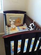 Boori Collection Convertible Cot Bed with mattress - Newborn to 4 Newport Pittwater Area Preview