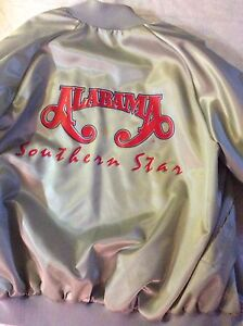 Men's Jacket Large for the music group Alabama New Price