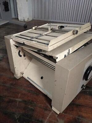 Mbm Fastfold 22 High Speed Paper Folding Machine