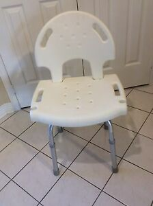 Shower chair and bath tub handle
