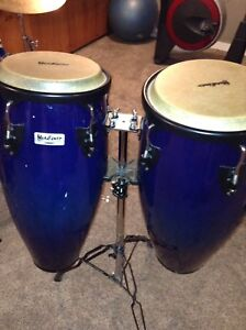 Beautiful blue congas.