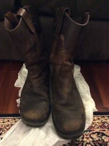 Genuine leather boots that cheap!!! 20 bucks