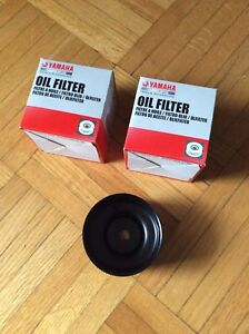 Yamaha Outboard Engine Oil Filters and Removal Tool