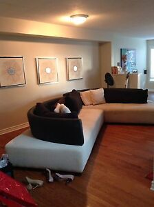 Large sectional sofa from Mobilia (used)