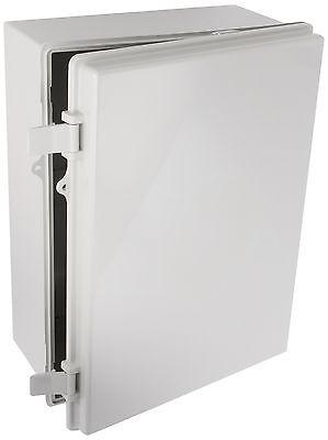 Bud Nema Box Plastic Solid Door Lockable Electrical Enclosure 15.7x11.7x 6.3